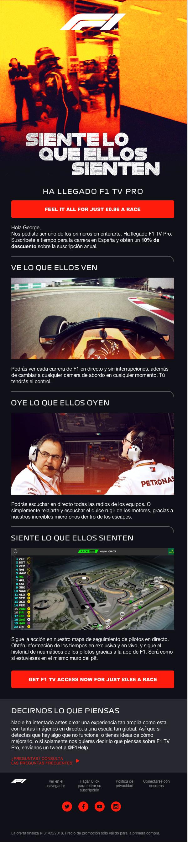 F1 TV Pro App Launch & Follow-up | Craig Mullins